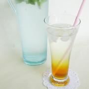【おいシーボン.】シュワシュワ〜の美味しい音を楽しんで★酵素美人−橙の炭酸割りができました♪