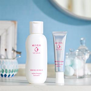 純白専科 美容液&美容水 数量限定セットが発売スタート!