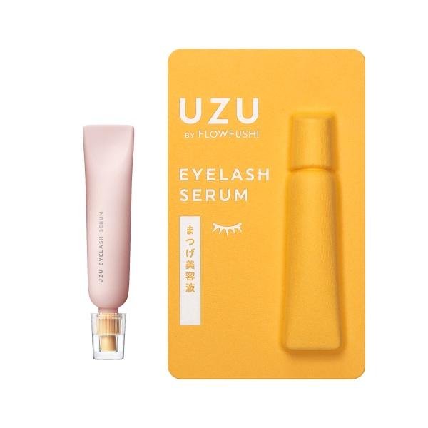 指で、カンタン。本気のまつげ美容液。「UZU まつげ美容液」誕生。