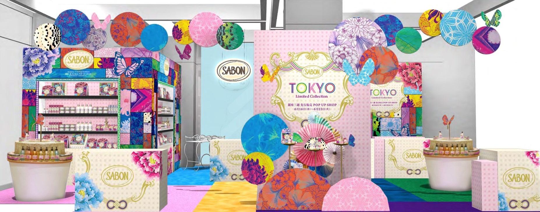 TOKYO Limited Collection 銀座三越 先行販売 POP UP SHOP開催
