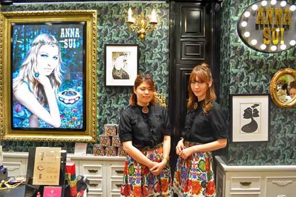アナ スイ 新宿・渋谷・青山・六本木エリアの百貨店・ファッションビル美容部員(ナビゲーター)契約社員の求人のスタッフ写真3