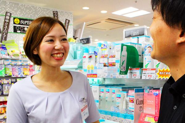 アマノ 名古屋・栄エリアの店舗内ビューティーコーナー美容部員(ビューティーアドバイザー)正社員の求人の写真