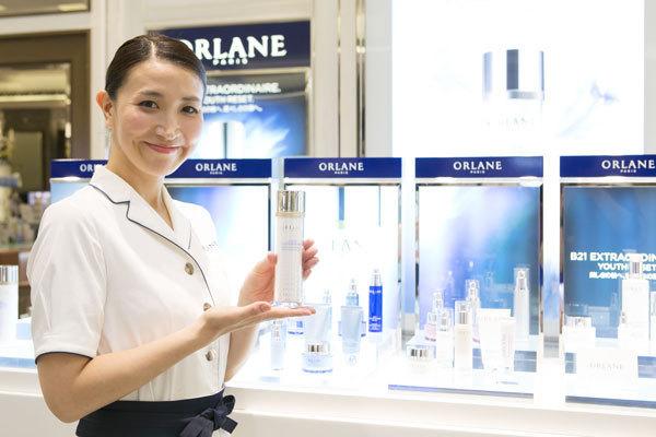 オルラーヌ 東京エリア直営店・百貨店美容部員(ビューティーカウンセラー)正社員の求人の写真