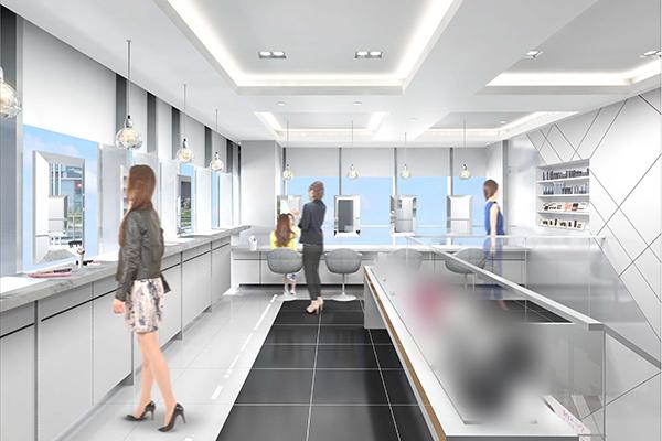 銀座エリア Panasonic Beauty体験型店舗(今秋オープン予定)美容部員・化粧品販売員(パナソニックビューティの美容家電アドバイザー)正社員の求人の店内写真1