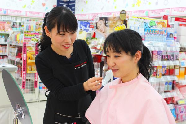 池田店美容部員正社員,契約社員,アルバイト・パートの求人のスタッフ写真2