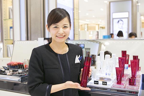 ポーラ 新宿区・渋谷区・港区エリアの有名百貨店美容部員(百貨店ビューティカウンセラー)契約社員の求人の写真