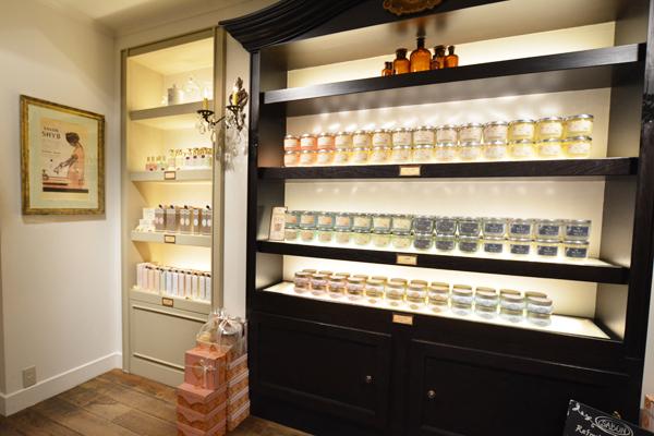 SABON 銀座店(4月NEWオープン予定)美容部員(バス&ボディケアの販売)正社員,アルバイト・パートの求人の店内写真3