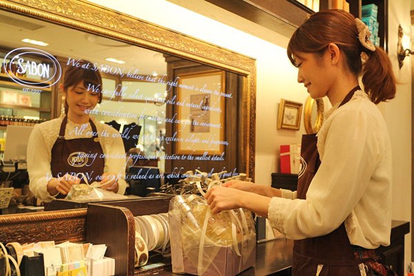 SABON GINZA SIX店(4月21日NEW OPEN)美容部員(バス&ボディケアの販売)アルバイト・パートの求人のスタッフ写真1