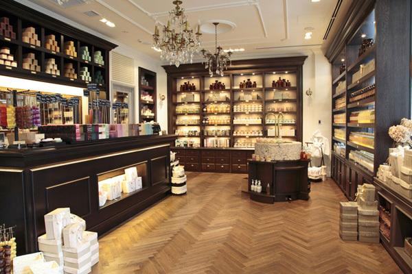 SABON 銀座店(4月NEWオープン予定)美容部員(バス&ボディケアの販売)正社員,アルバイト・パートの求人の店内写真1