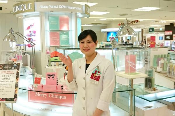 そごう 横浜店美容部員(『シャネル』など化粧品カウンター ビューティーアドバイザー)契約社員の求人のスタッフ写真2