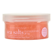 Ultra Fine Pomegranate & Fig Sea Salts / cuccio