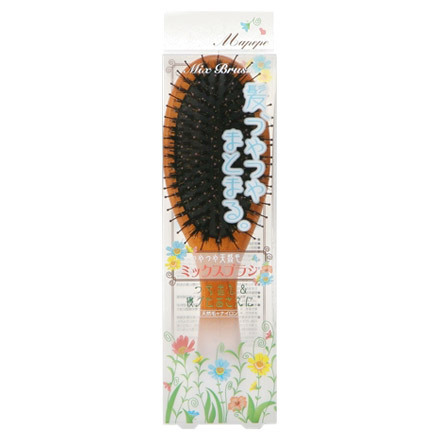 Organic Mixed Hair Brush / mapepe