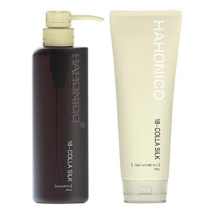 HAHONICO 18-COLLA SILK SHAMPOO/TREATMENT / HAHONICO HAPPY LIFE