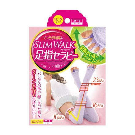 Slim Walk Toe Therapy Home Relax Socks (Long)