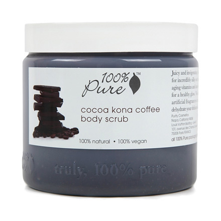 cocoa kona coffee body scrub / 100%PURE