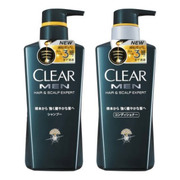 For Men Shampoo/Extra Care Conditioner / CLEAR