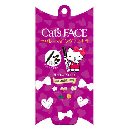 Deep Film Mascara (Separate & Long) / Cat's Face