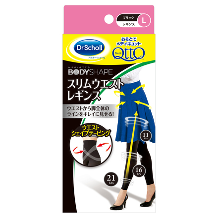 MediQttO Body Shape Outdoor Stockings Slim Waist / Dr. Scholl