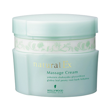 Natural EX Massage Cream h / HOLLYWOOD