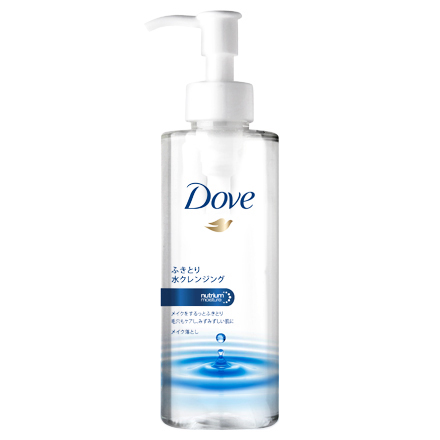 Wipe-Off Water Cleansing / Dove
