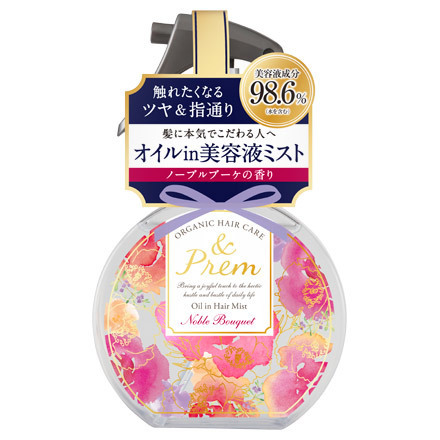 &Prem Oil in Hair Mist Noble Bouquet / MOMOTANI JUNTENKAN