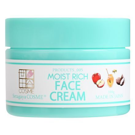 MOIST RICH FACE CREAM / Setagaya COSME