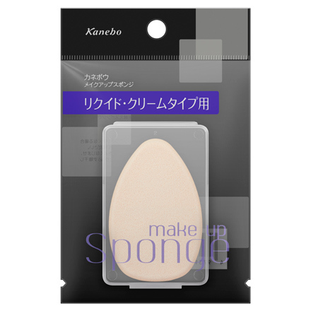 Makeup Sponge (for Liquid/Cream) / Kanebo