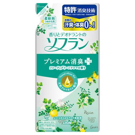 Premium Deodorant Plus Fruity Green Aroma / SOFLAN