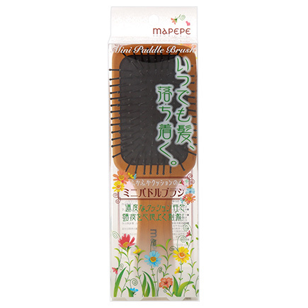 Soft Cushion Mini Paddle Brush / mapepe