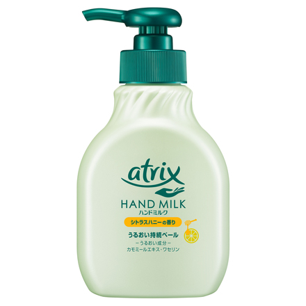 Hand Milk Citrus Honey Fragrance / atrix