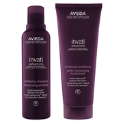 invati advanced exfoliating shampoo/thickening conditioner / AVEDA