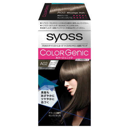 COLOR Genic Milky Hair Color (For Partially Gray Hair) / Syoss