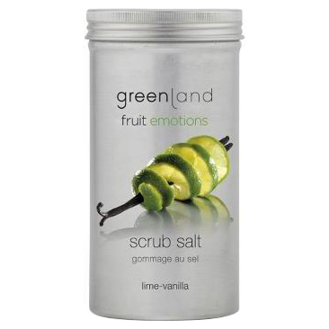Fruit Emotions Scrub Salt (Lime-Vanilla) / greenland