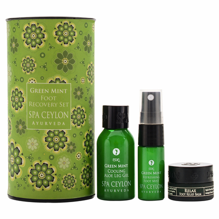 GREEN MINT - Foot Recovery Set / SPA CEYLON
