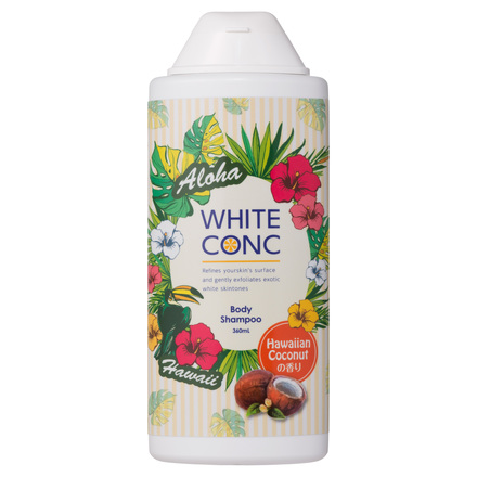 Medicated WHITE CONC Body Shampoo Hawaii / WHITE CONC