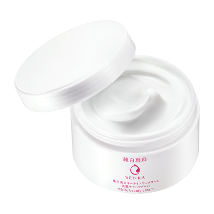 Junpaku Senka Whitening Beauty Cream / SENKA