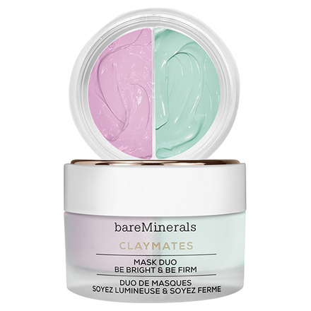 CLAYMATES BE BRIGHT & BE FIRM MASK DUO / bareMinerals