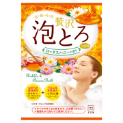 Bubble & Aroma Bath Lotus Honey Fragrance / oyumonogatari