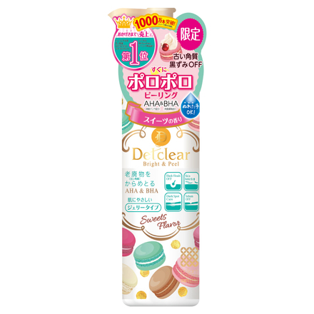 DETclear Bright & Peel Peeling Jelly (Sweets Fragrance) / MEISHOKU