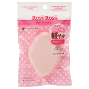 Chiffon Touch Sponge N Diamond Shaped / ROSY ROSA