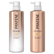 miracles RICH MOISTURE SHAMPOO/TREATMENT / PANTENE