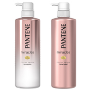 miracles  CRYSTAL SMOOTH  SHAMPOO/TREATMENT / PANTENE