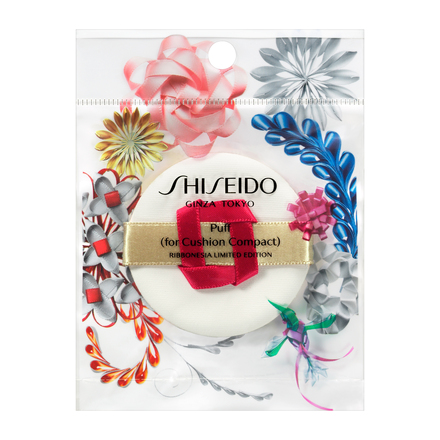 Puff (for Cushion Compact) RIBBONESIA LIMITED EDITION / SHISEIDO