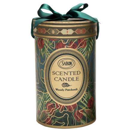 Scented Candle Woody Patchouli / SABON