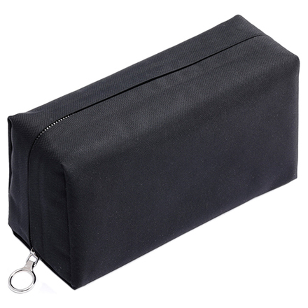 Aeta×THREE Cosmetic Pouch L AT-01 Black / THREE