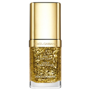 Nail Top Coat Dazzling Gold