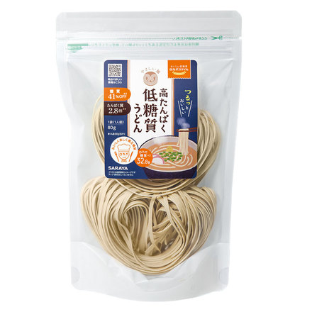 LOCABOSTYLE Low Carbohydrate High Protein Udon Noodles