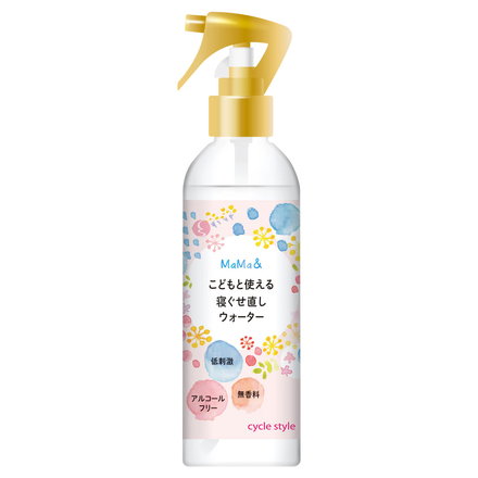 Mama& Hair Styling Water Spray for Kids and Parents / cycle style