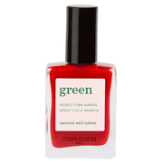 green natural nail color / manucurist
