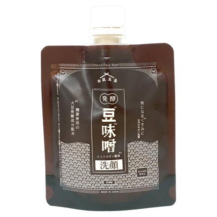 Fermented Bean Miso Isoflavone Face Wash / Hadabisen
